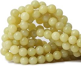 lemon jade beads