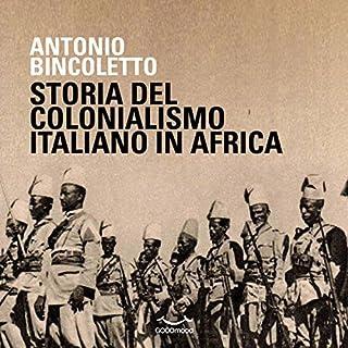 Storia del colonialismo italiano in Africa copertina