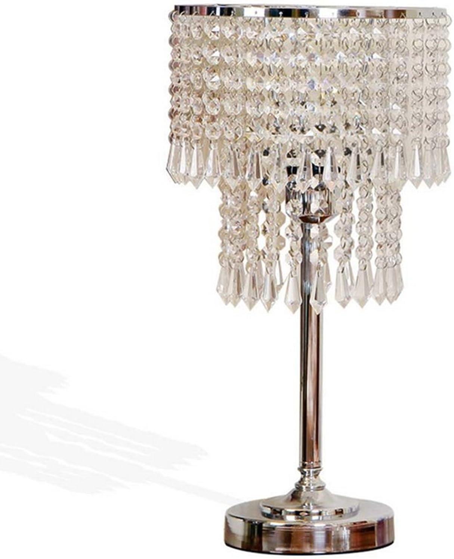 XINGQIANRU Europischen Kristall Tischlampe Schlafzimmer Wohnzimmer Sofa Moderne Einfache Kreative Lichter