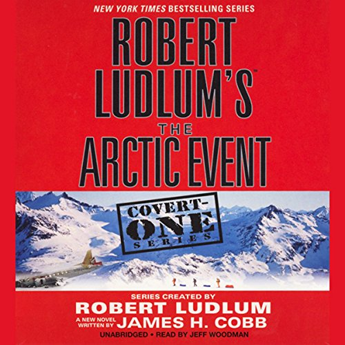 Robert Ludlum's The Arctic Event audiobook cover art