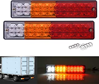 SS VISION 20 LED Trailer Tail Lights Bar, Waterproof DC 12V, Turn Signal Reverse Brake and Stop Indicator Lamp for Truck R...
