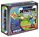 phaiser Inspiring Fun Young Detective Kit - Collect Evidence and Catch The Criminal Toolkit - Science Experiment Learning Set - Spy Kit - Perfect Present for Children Aged 7+