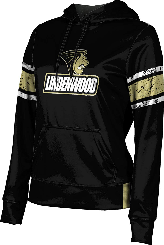ProSphere Lindenwood University Girls' Pullover Hoodie, School Spirit Sweatshirt (End Zone)