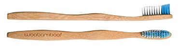 Bamboo Toothbrush - Adult - Super Soft Bristle - BPA Free Nylon Bristles - Eco-Friendly, Biodegradable, Compostable, Vegan by WooBamboo!