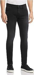 Mens B Straight Leg Jeans, Black, 33W x 32L