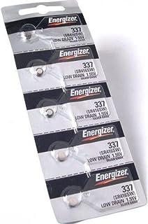 Energizer SR416SW Lot de 5 piles pour montre 337