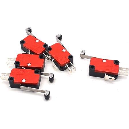 V-155-1C25 Long Hinge Roller Lever AC DC Micro Switch 10PCS