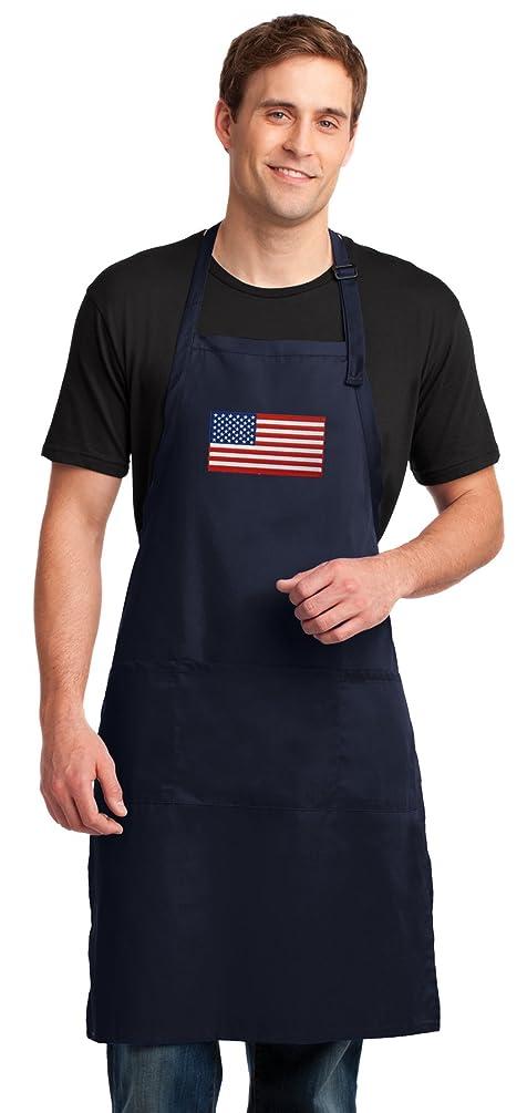 Broad Bay American Flag Apron for Men or Women