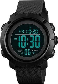 Boys Watch Digital Sports Waterproof Military Back Light Teenager Watch Black (Age for 11-15) 1426