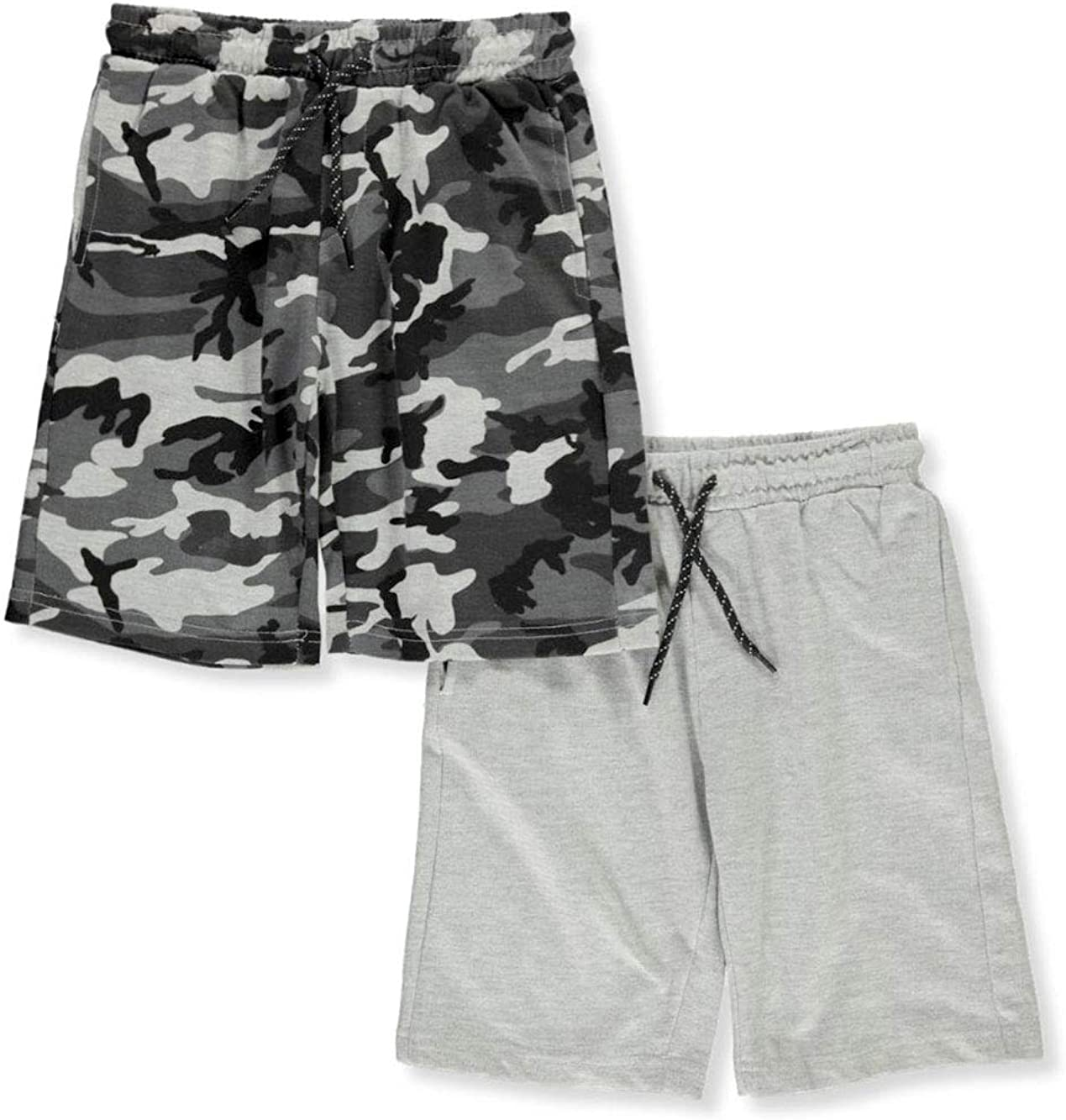 Hawk Boys' 2-Pack Terry Shorts