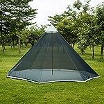 OneTigris HOWLINGTOP Ultralight Mesh Teepee for Smokey Hut Hot Tent, Weighs 2.2Ib 7