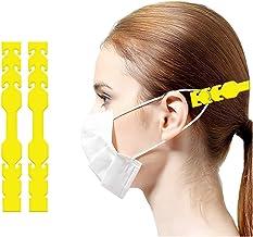 Mask.ok [10 stuks haakadapters voor oorbeschermers, antislip, kleuren, verlenging voor maskers.