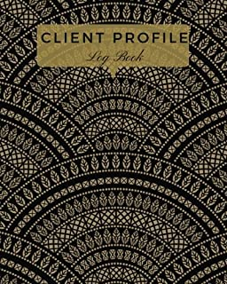 Client Profile Log Book: Brown Customer Appointment Management System   Log Book, Information Keeper, Record & Organise   For Salons, Nail ... Beauticians & More (Organization) (Volume 3)
