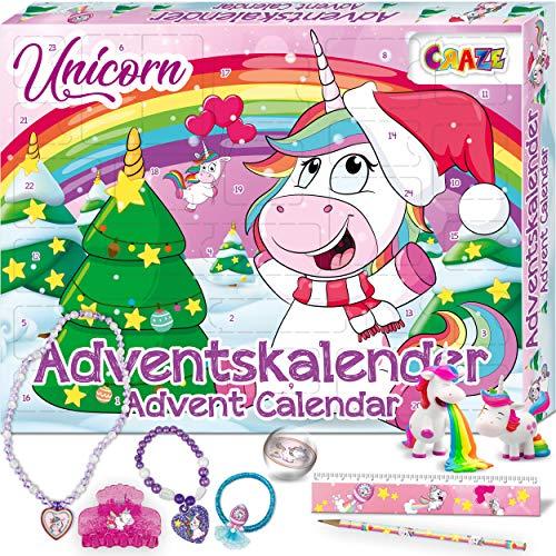Craze Adventskalender 2020 Unicorn Einhorn