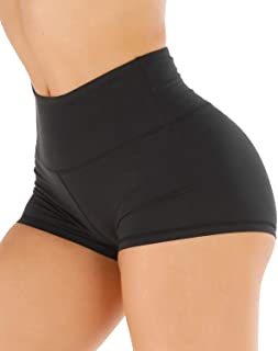 Workout Booty Shorts for Women - High Waist Running...