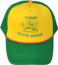 Gankchen Stranger Cosplay Things Hat Retro Mesh Snapback Cap 85 Know Where Adjustable Cap