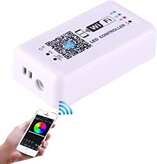 LED Controller Wifi RGB LED Remote Controller Support IOS 6 or Later A n d r o i d 2.3 or Later DC 12-24V Strip Light