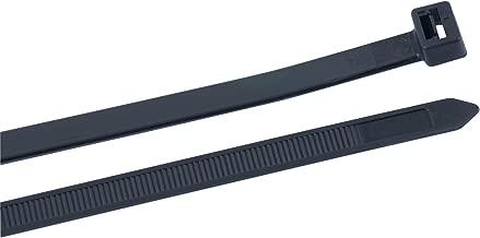 Gardner Bender 45-548UVBSP Spiral Heavy-Duty Nylon Cable Tie, 48, 175 lb. tensile, 10 Pack, UV Black