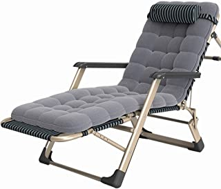 Caishuirong Lit Pliant avec Durable for Folding Pee Bureau d'intérieur Balcon Patio Jardin extérieur Plage Lit Chaise TDU ...