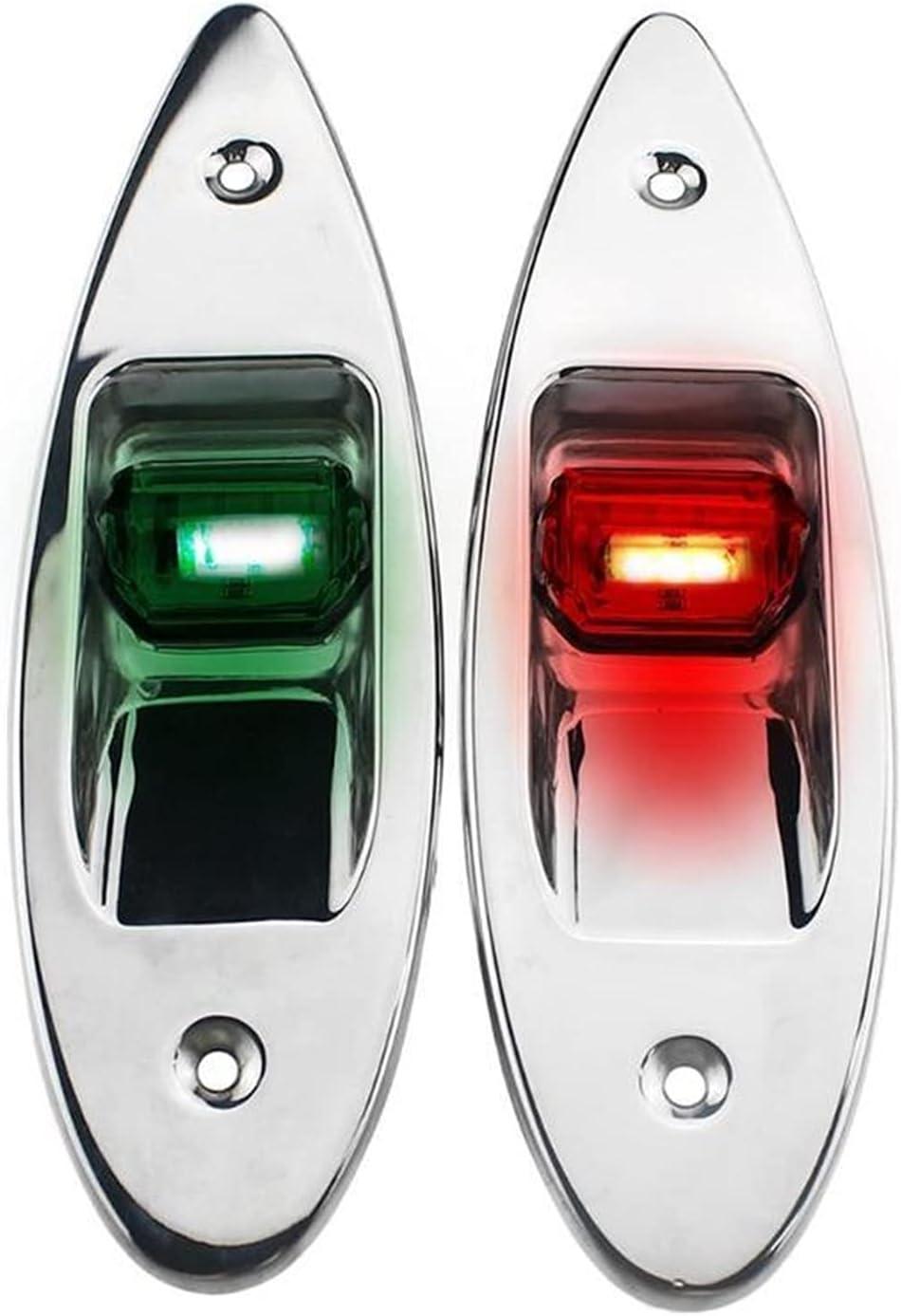 MINGMIN-DZ Boat Navigation Lights 2Pcs LED Universal Navigat 5 ☆ popular 12V Manufacturer OFFicial shop