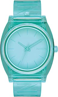 Nixon A119-3143 Time Teller P Women's Watch Blue 40mm Stainless Steel