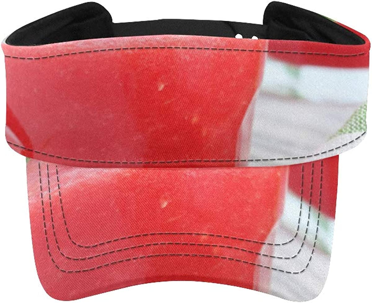 Women Sun Hat Visor Red Delicious Hats Max 54% OFF Visors Juice Japan Maker New f Watermelon