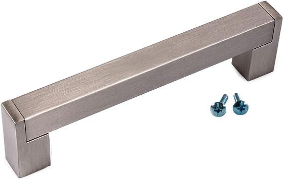 Möbelgriffe Stangengriffe BA 160 mm Küchengriffe Schubladengriffe Schrankgriffe