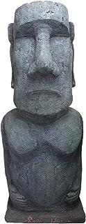 ジャイアントモアイ像 置物 巨大 等身大 フィギュア おもしろ雑貨 オブジェ インテリア 180cm