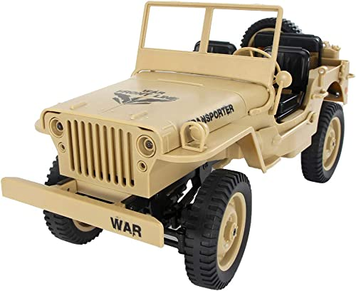 DEELIN JJRC Q65 1 10 2.4G RC Open Car Milit eep Offroad 4WD Rock Crawler RTR Spielzeug