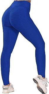 FITTOO Leggings Push Up Mujer Mallas Pantalones Deportivos Alta Cintura Elásticos Yoga Fitness