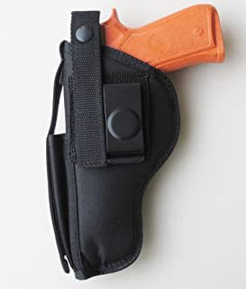 Federal Holsterworks Hip Holster for Ruger American Pistol 9mm / 45 with Extra Mag Pouch on Front