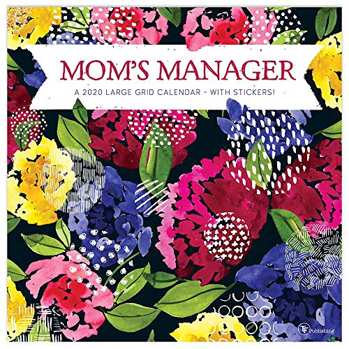 2020 Mom's Manager Planning Wall Calendar and Stickers