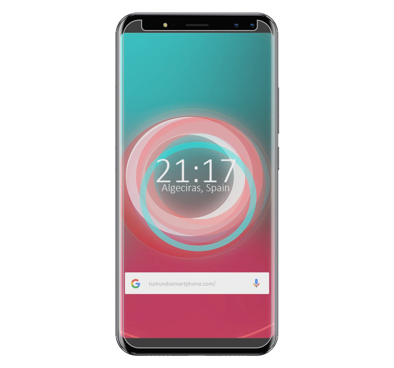 Tumundosmartphone Protector Cristal Templado para ULEFONE Power 3S ...