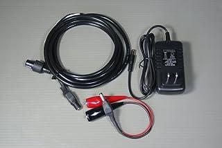 HONDEX 魚探 電源ケーブル DC06 ACアダプター ワニ口クリップ セット