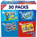 One 30 count Nabisco Team Favorites Variety Pack, OREO Mini, CHIPS AHOY! Mini, Teddy Grahams Honey & Barnum's Animal Crackers Enjoy bite-sized versions of your favorite snacks in their classic flavors Mini cookies and mini crackers in packable snack ...