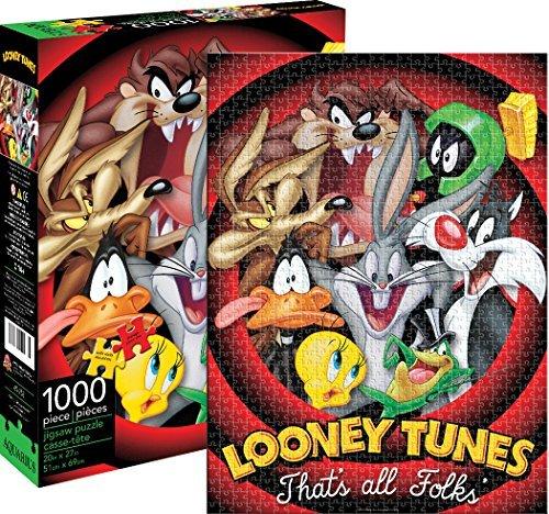 Aquarius Looney Tunes That All Folks Jigsaw Puzzle (1000 Piece) by Aquarius