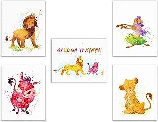 disney lion king prints