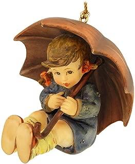 M.I. Hummel Christmas Ornament - Umbrella Girl