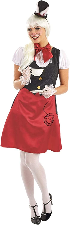 Frau Kaninchen Alice im Wunderland Kostüm Damen B06Y553HJS Haltbarer Service    | Wonderful