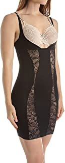 Body Hush Glamour Slenderizing Slip with Lace Inserts (BH1502L)