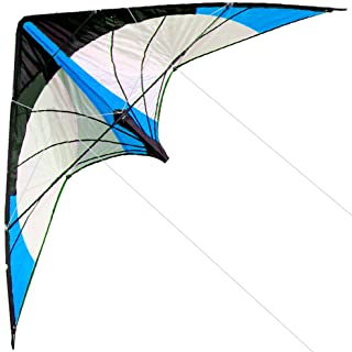 HENGDA KITE-Upgrade Star Rhyme 48 Inch Dual Line Stunt Kite for Kids and Adults,Outdoor Sports,Beach and Fun Sport Kite,Ha...