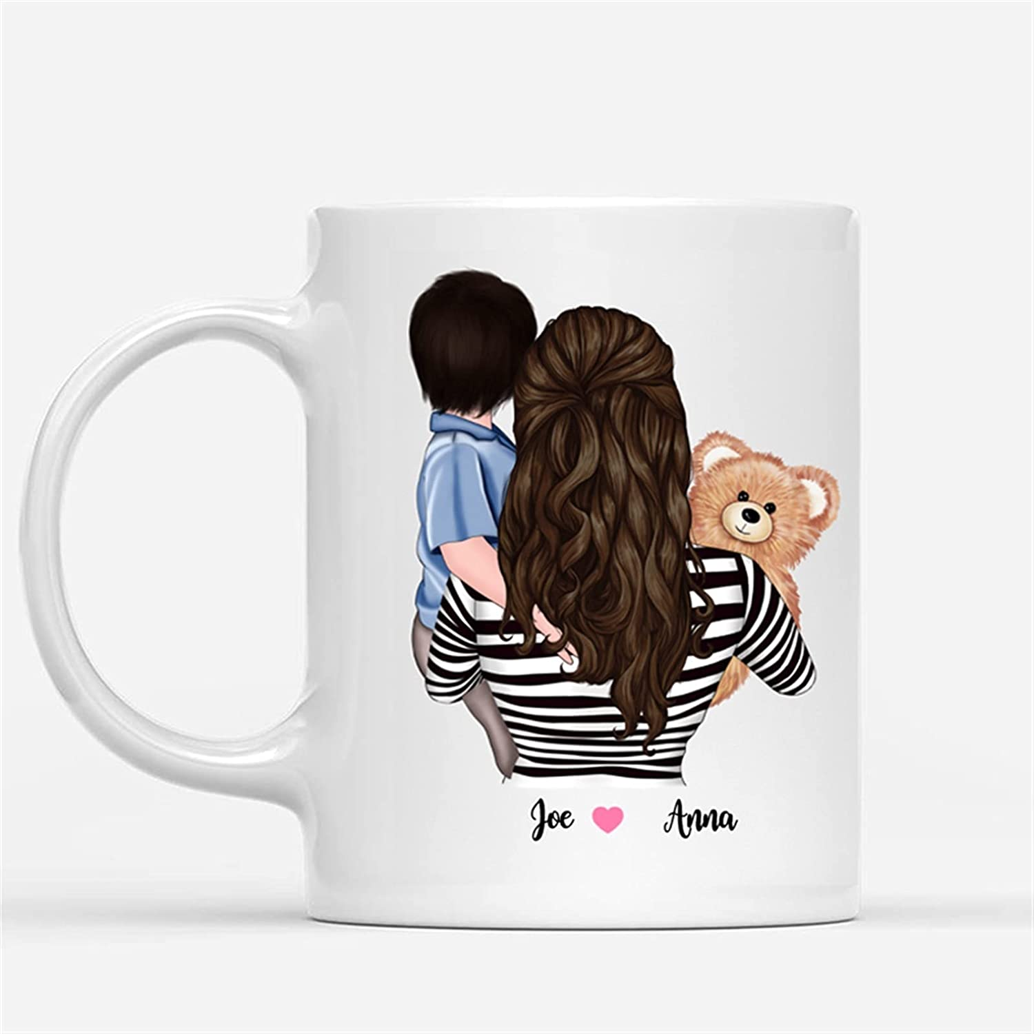 Mug Coffee Family Mom and Daughter Happiness Being security Son A Is Super sale