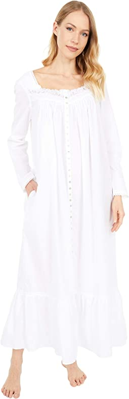 Long Sleeve Button Front Ballet Robe