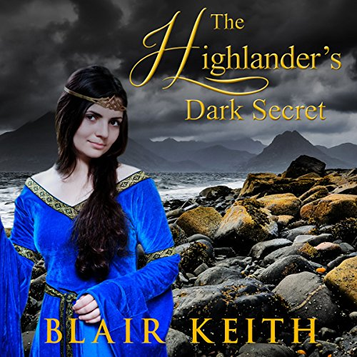 The Highlander's Dark Secret audiobook cover art