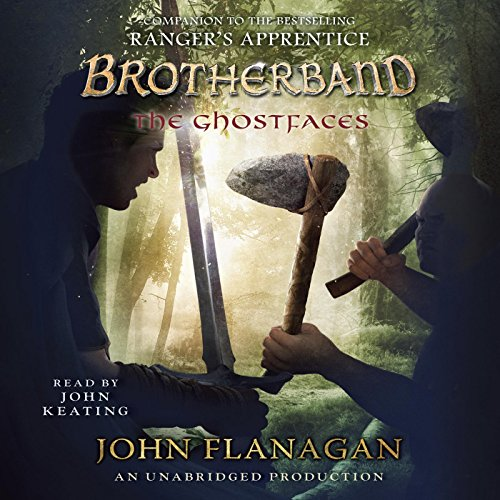 The Ghostfaces audiobook cover art