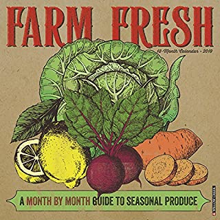 Farm Fresh 2019 Wall Calendar - coolthings.us