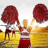 Zoom IMG-1 bicaquu cheerleading pom 6pcs poms