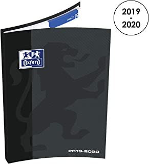 Oxford 100735660Weekly Diary School 2018-20191Week on 2Pages, 12x 18cm, Black