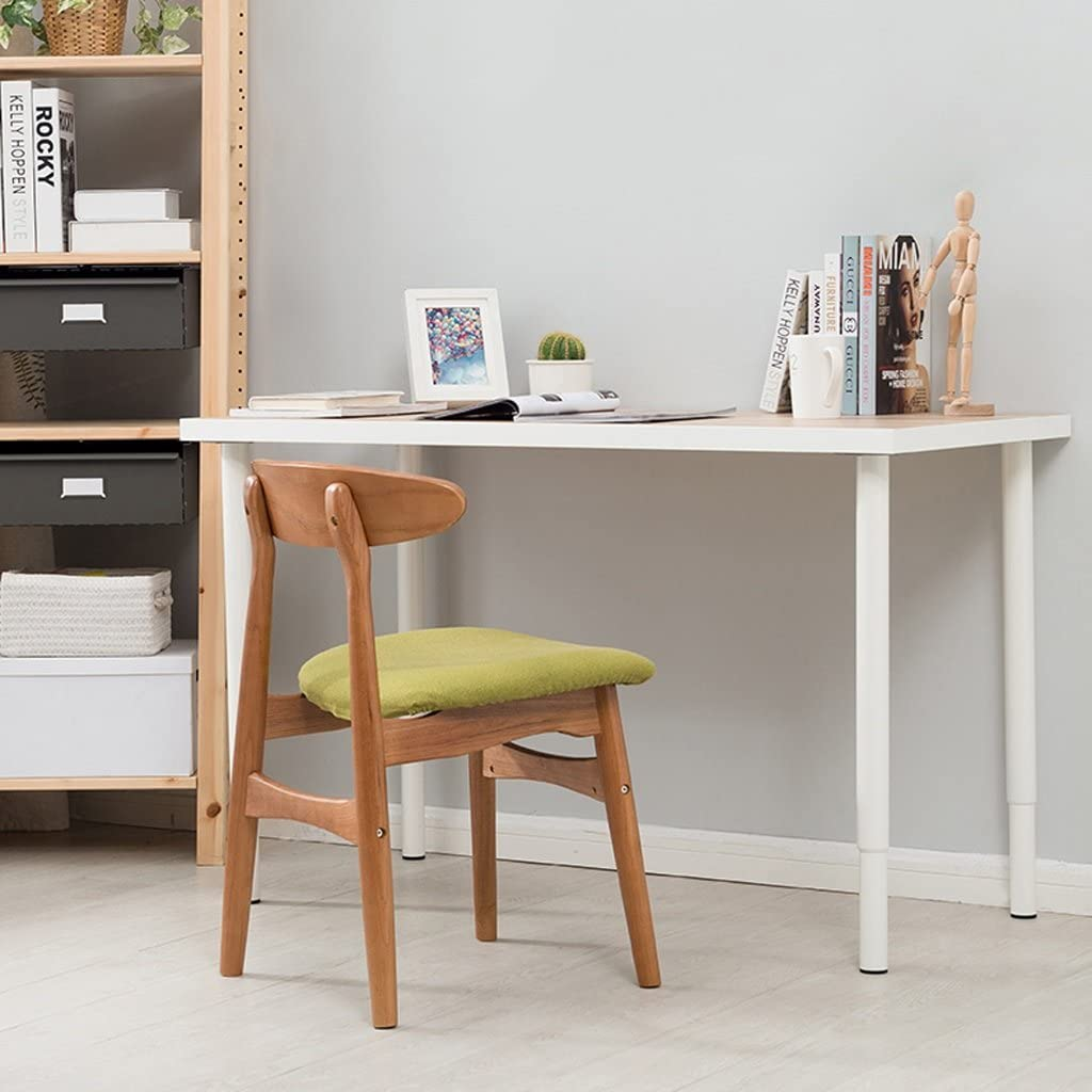 Simple moderne chaise en bois massif chaise de bureau chaise de bureau (Couleur : B) B