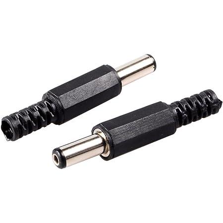 Amazon.com: Conwork 10-Pack DC Socket Male Barrel Jack 5.5mm x 2.5mm Solder  On DIY Custom Power Plug Adapter: Home Audio & TheaterAmazon.com